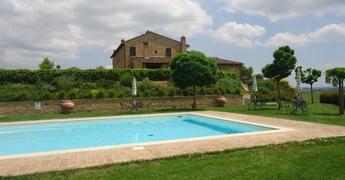 Os apartamentos do Agroturismo Capanne em Siena